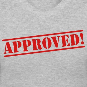 Approved Women's T-Shirts - Women's V-Neck T-Shirt