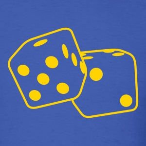 Roll the Dice T-Shirts - Men's T-Shirt