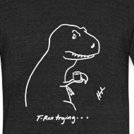 Design ~ T-Rex Bathroom White Design (Am Apparel)