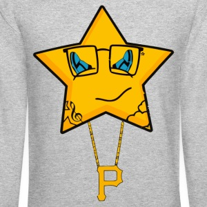 Wiz Star Long Sleeve Shirts - Crewneck Sweatshirt