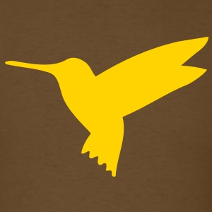 hummingbird flying T-Shirt - Men's T-Shirt