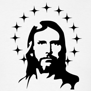 jesus christ stars T-Shirt - Men's T-Shirt