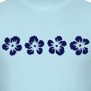 hawaii hibiscus flower T-Shirts - Men's T-Shirt