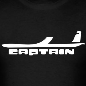 captain airplane T-Shirt - Men's T-Shirt