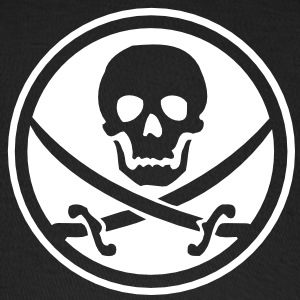 pirate skull emblem Caps - Baseball Cap