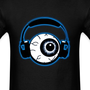 DubstepLyrics Eyeball - Men's T-Shirt