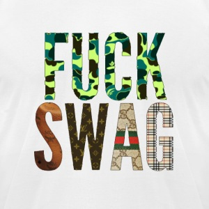 FUCK SWAG T-Shirts - Men's T-Shirt by American Apparel