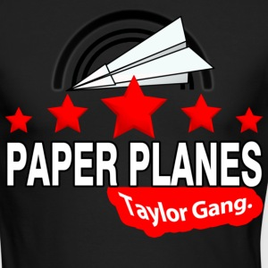 Paper Planes Long Sleeve Shirts - Men's Long Sleeve T-Shirt by Next Level