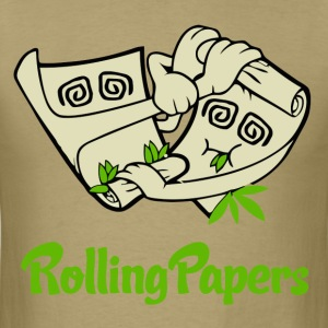 Rolling Papers T-Shirts - Men's T-Shirt