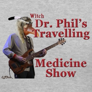 Lady's V - Witch Dr. Phil's Travelling Medicine Show - Women's V-Neck T-Shirt
