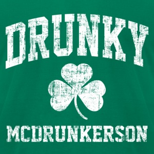 Drunky McDrunkerson! T-Shirts - Men's T-Shirt by American Apparel