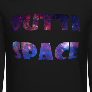 Outta Space Long Sleeve Shirts - Crewneck Sweatshirt