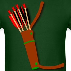 Archery quiver design by Patjila2 T-Shirts - Men's T-Shirt