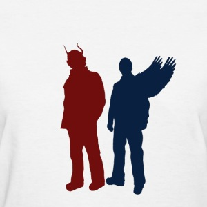 Women's Demon and angel - Women's T-Shirt