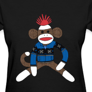 Design ~ Women's Sock monkey