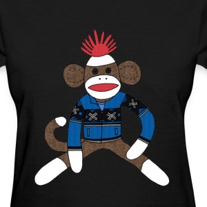 Women's Sock monkey - Women's T-Shirt