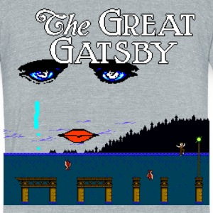 Great Gatsby Game Tri-blend Vintage Tee - Unisex Tri-Blend T-Shirt