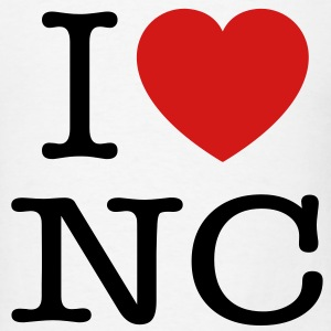 I Heart NC T-Shirts - Men's T-Shirt