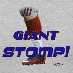 Lady's V - Giant Stomp! - Women's V-Neck T-Shirt