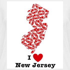 Design ~ I Love New Jersey V-Neck