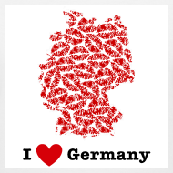 Design ~ I Love Germany V-Neck