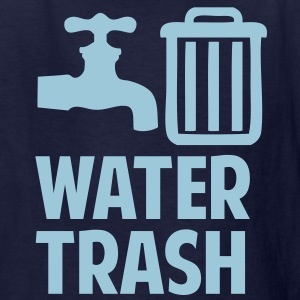Water Trash Kids' Shirts - Kids' T-Shirt