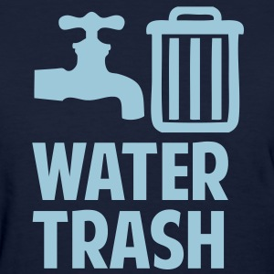 Water Trash Women's T-Shirts - Women's T-Shirt