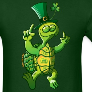 Saint Patrick's Day Turtle T-Shirts - Men's T-Shirt