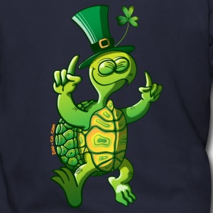 Saint Patrick's Day Turtle Zip Hoodies/Jackets - Men's Zip Hoodie