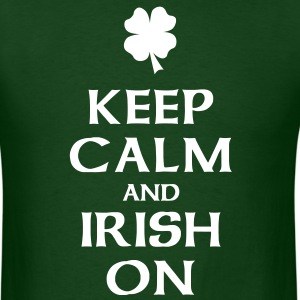 Keep Calm and Irish On T-Shirts - Men's T-Shirt