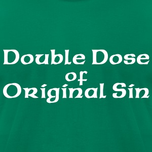 Double Dose T-Shirts - Men's T-Shirt by American Apparel
