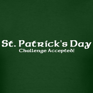 St. Patrick's Challenge Accepted T-Shirts - Men's T-Shirt