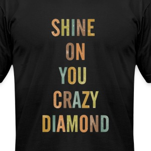 CRAZY DIAMOND T-Shirts - Men's T-Shirt by American Apparel