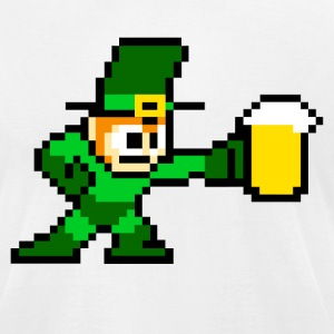 Megaman St. Patrick T-Shirts - Men's T-Shirt by American Apparel