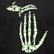 Design ~ X-Ray Michigan (Glow in the Dark)