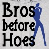 Bros before Hoes Design Hoodies - Men's Hoodie