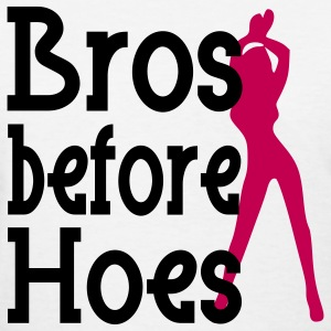 Bros before Hoes Design Women's T-Shirts - Women's T-Shirt