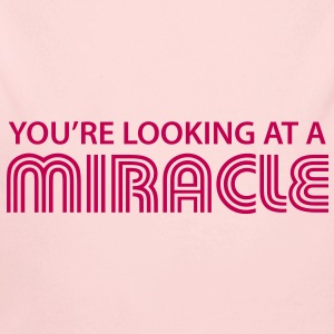 You're looking at a miracle Baby Bodysuits - Long Sleeve Baby Bodysuit