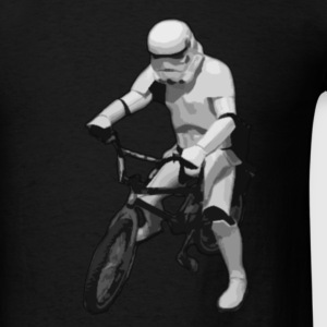 Star Wars Trooper cyclist T-Shirts - Men's T-Shirt