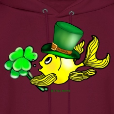 Happy St Patrick's Day  Fish, Goldfish