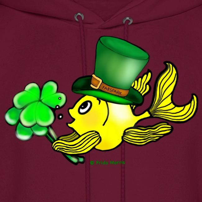 Fabspark Funny Lovable T Shirts Happy St Patricks Day Fish