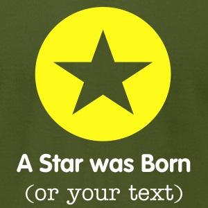 Star in a Round 1c T-Shirts - Men's T-Shirt by American Apparel