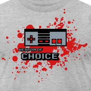 Weapon of Choice :: NES Controller T-Shirts - Men's T-Shirt by American Apparel