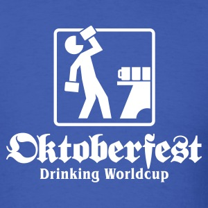 Oktoberfest Drinking Worldcup No.1 T-Shirts - Men's T-Shirt
