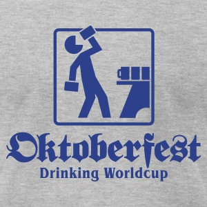 Oktoberfest Drinking Worldcup No.1 T-Shirts - Men's T-Shirt by American Apparel