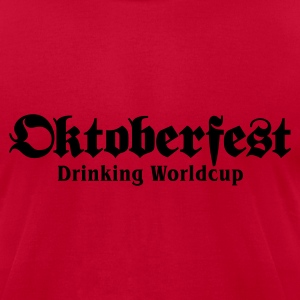 Oktoberfest Drinking Worldcup No.1 (only) T-Shirts - Men's T-Shirt by American Apparel