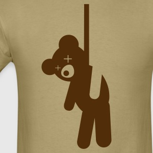 Hanged Teddy Bear T-Shirts - Men's T-Shirt