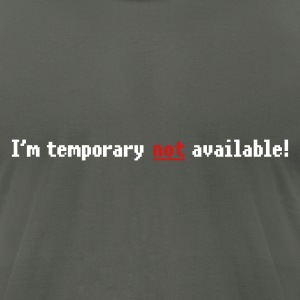 N/A - Not available (small not) 2c T-Shirts - Men's T-Shirt by American Apparel