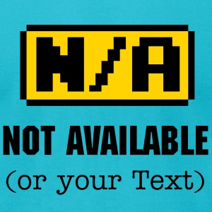 N/A - Not available Symbol 2c T-Shirts - Men's T-Shirt by American Apparel