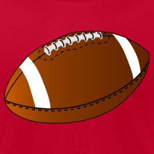 Football - Men's T-Shirt by American Apparel